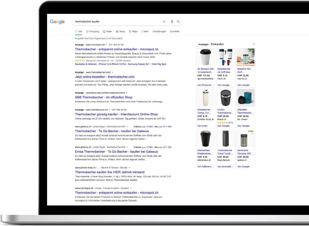 Google Ads Werbung Vorteile